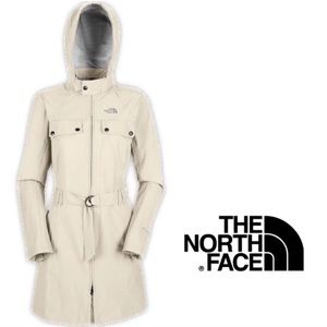 The north face Hyvent Dt trench coat jacket M